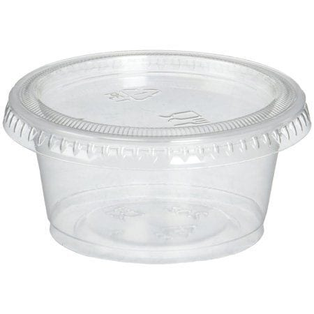 Superior Container Packed 4OZ CLEAR Plastic 100 X 10