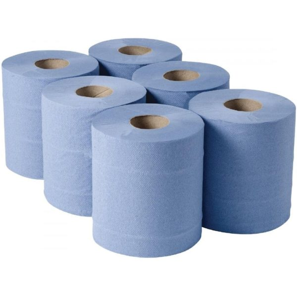 Centre Feed Omega BLUE Roll 104M X 6 21012014