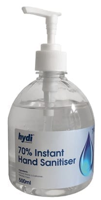 Hydi Alcohol-Based Hand Disinfectant 500ML