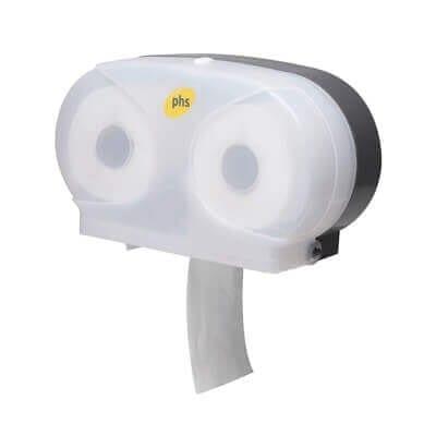 Double Toilet Roll Dispenser
