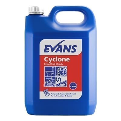 Evans Cyclone Extra Thick Bleach 5LTR x 2
