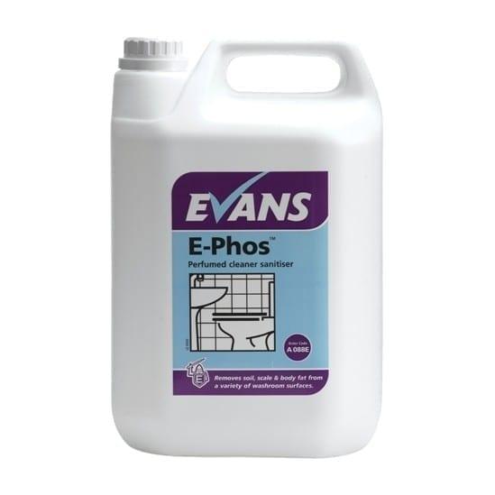Evans E-Phos Perfumed Cleaner Sanitiser 5LTR
