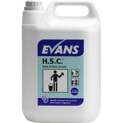 Evans H.S.C. Hard Surface Cleaner 5LTR x 2