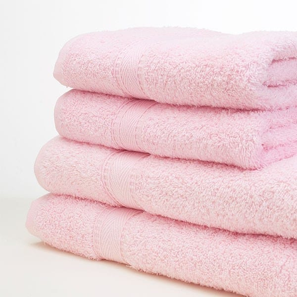 Bath Sheets BABY PINK 90x125CM 480GSM