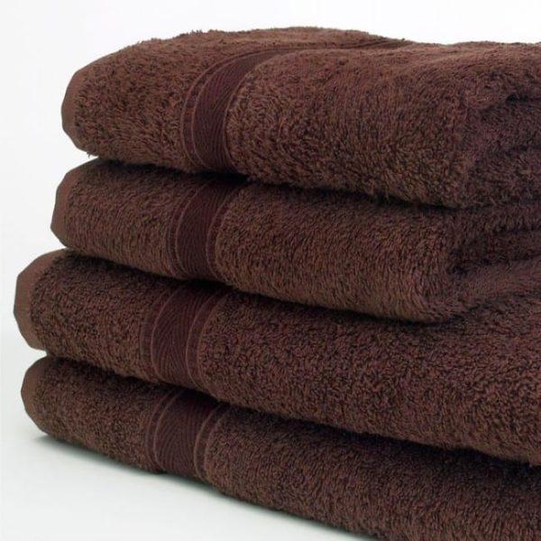 Bath Sheets CHOCOLATE 90x125CM 480GSM