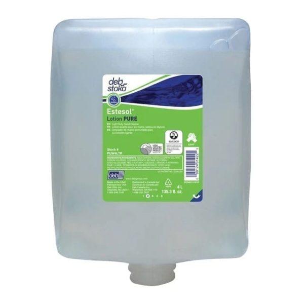 DEB Estesol Lotion Pure Cartridge 2LTR X 4