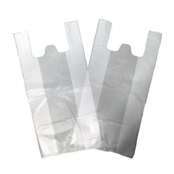 Jupiter Carrier Bags WHITE Medium 10x15x18CM X 1000