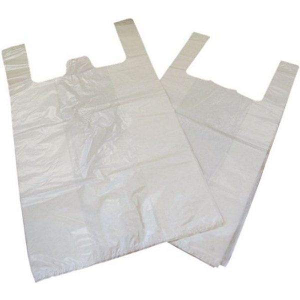 High Density Hithene Bags WHITE 6X8'' X 10,000