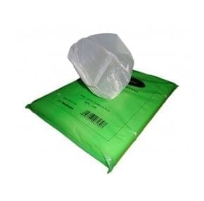 High Density Hithene Bags WHITE 250X200Mm X 10,000