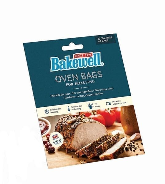 Bakewell Oven Bags Extra Large 45x55CM 5 Bags Per Pack/20