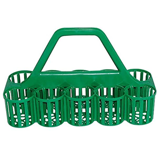 Glass Bottle Carrier GREEN