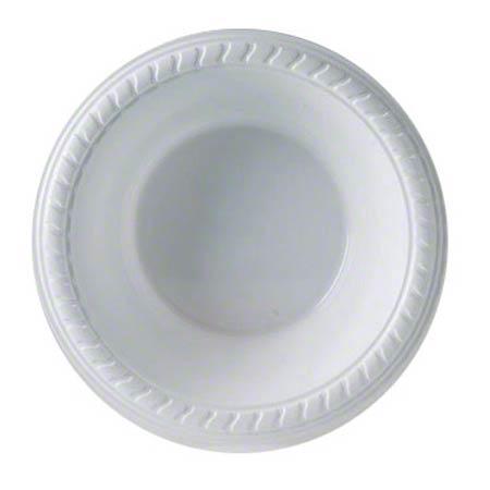 PlastiPro Plastic Bowls White 120Z 8 X 100