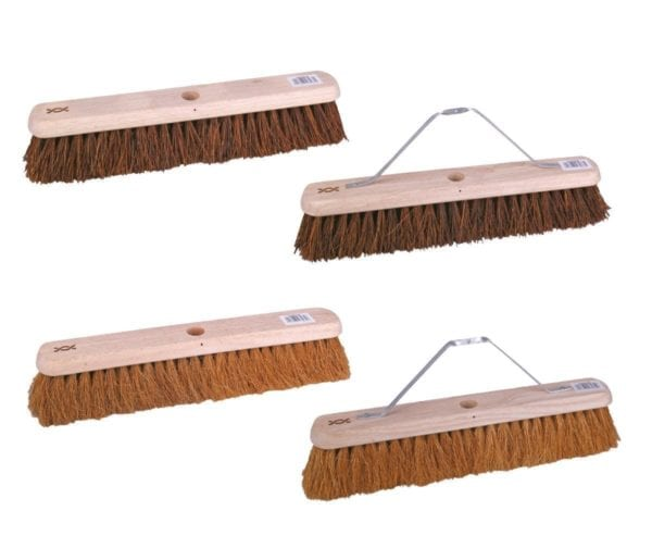 Platform Broom With Metal Stay and Handle 24''