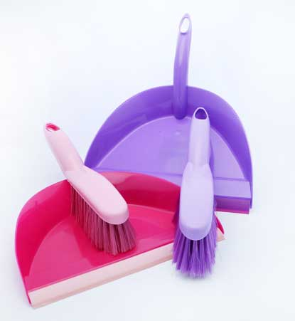 Dust Pan And Brush Assorted