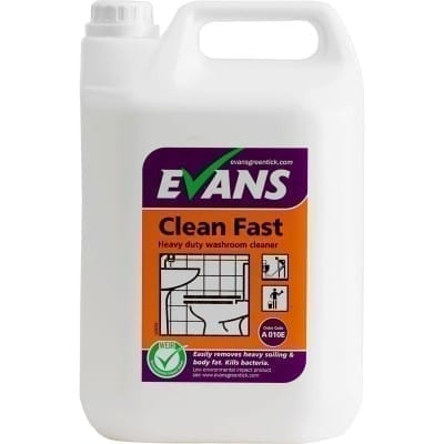 Evans Clean Fast Heavy Duty Washroom Cleaner 5LTR