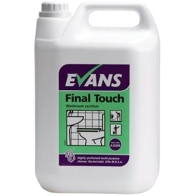 Evans Final Touch Washroom Sanitiser 5LTR