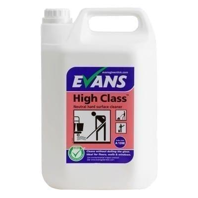 Evans High Class Neutral Hard Surface Cleaner 5LTR