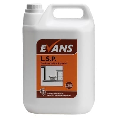 Evans L.S.P. Liquid Spray Polish 5LTR