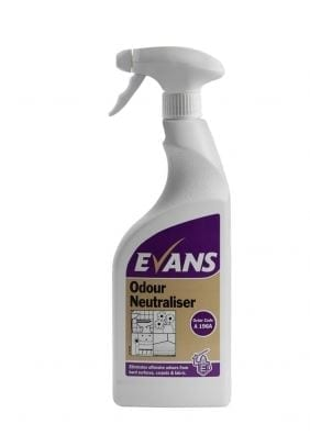 Evans Odour Neutraliser Eliminates Odours 750ML X 6