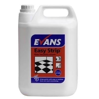 Evans Easy StripFast Acting Floor Polish Stripper 5LTR