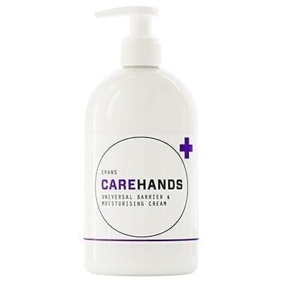 Evans Carehands Barrier And Moisturising Hand Cream 500ML X 6