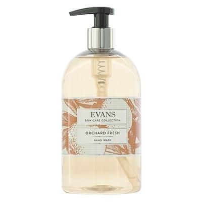 Evans Orchard Fresh Refreshing Hand, Hair And Body Wash 500ML X 6