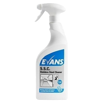 Evans S.S.C. Stainless Steel Cleaner 750ML X 6