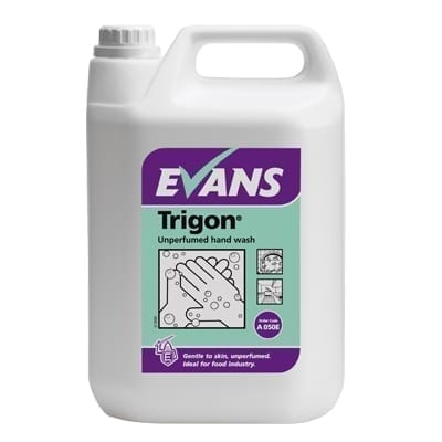 Evans Trigon Unperfumed Hand Wash 5LTR