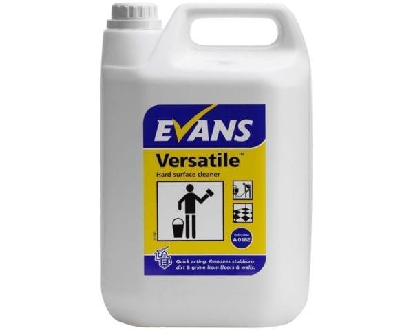 Evans Versatile Hard Surface Cleaner 5LTR