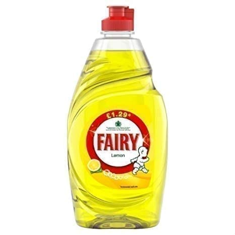 Fairy Liquid Lemon Pump 433ML X 10