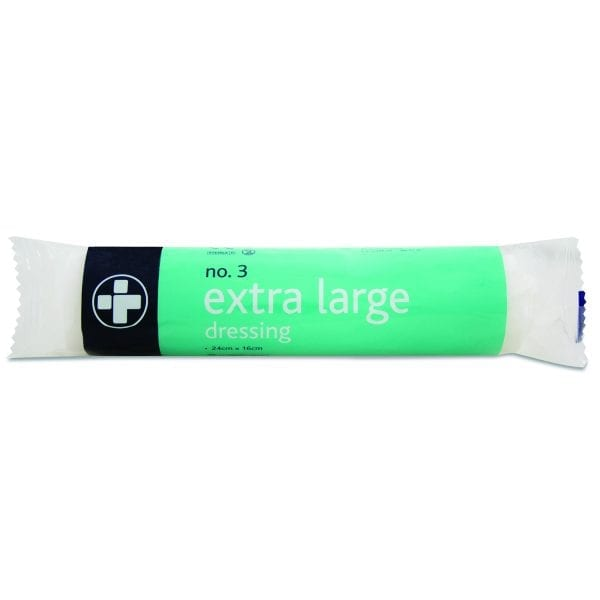 No.3 Dressings Sterile Extra Large X 10