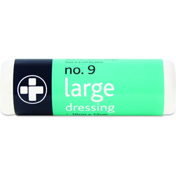 No.8 Unboxed  Dressing sterile LARGE