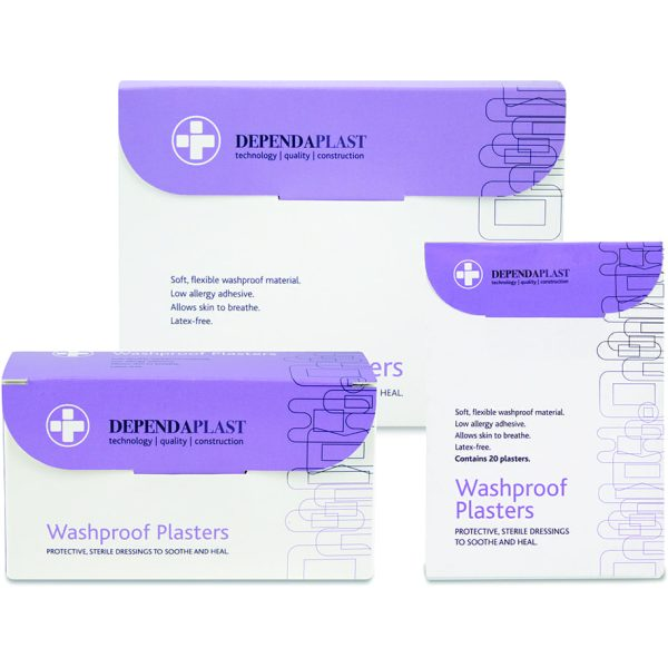 Dependaplast Washproof Plasters Assorted X 100