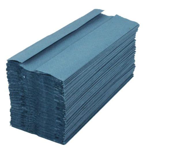 Hand Towels Z Fold BLUE X 3000