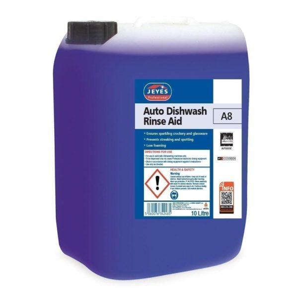 Jeyes Professional A8 Dishwash Rinse Aid 10LTR