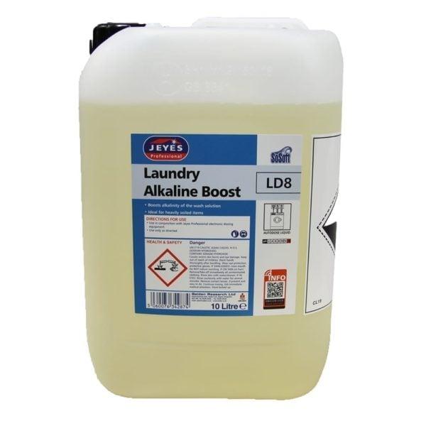 Jeyes Professional LD8 Alkaline Boost10Ltr