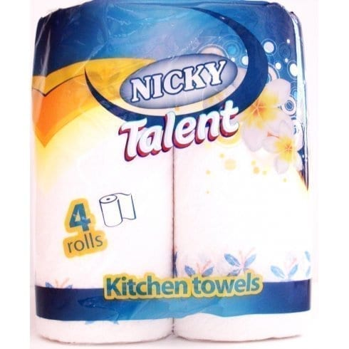 Nicky Talent Kitchen Towel 4 X 6