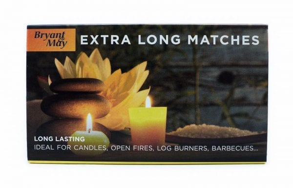 Bryant And May Matches Extra Long X 12