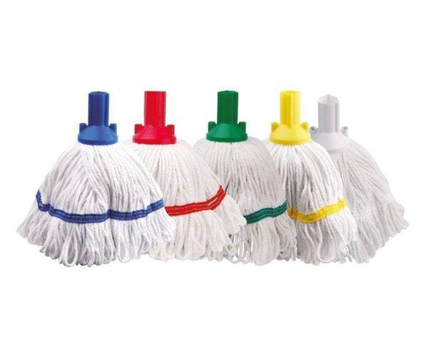Exel Revolution Socket Mop BLUE Washable 200g