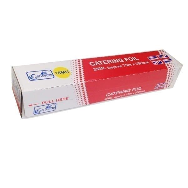 Castleview Heavy Duty Foil 18 Micron 300MMx75M