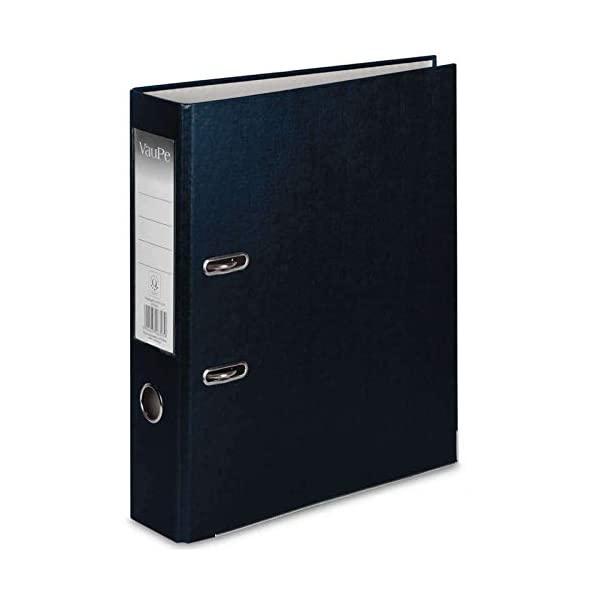 Lever Arch File A4 BLACK X 10