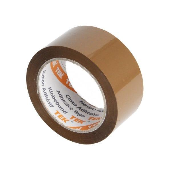 Brown Buff Polypropylene Tape 48MMx66M