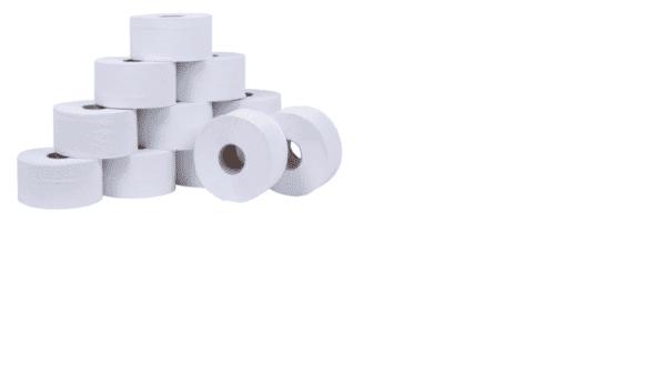 Mini Jumbo Toilet Rolls 250Mtr 2 1/4''   X 6