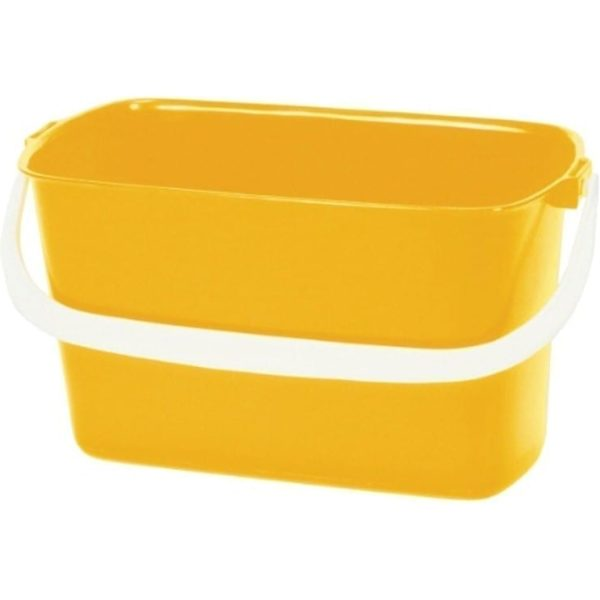 SYR Window Cleaners Oblong YELLOW Bucket 9LTR