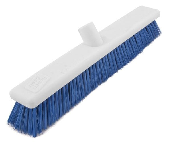 Washable Broom Soft BLUE 18''