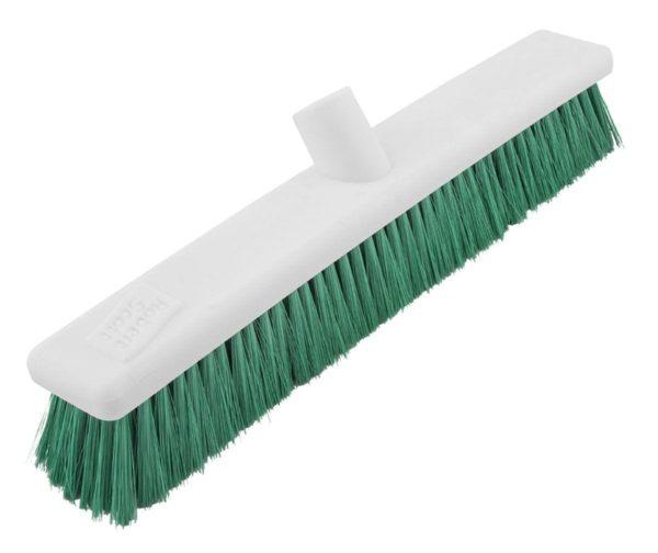 Washable Broom Hard GREEN 12''