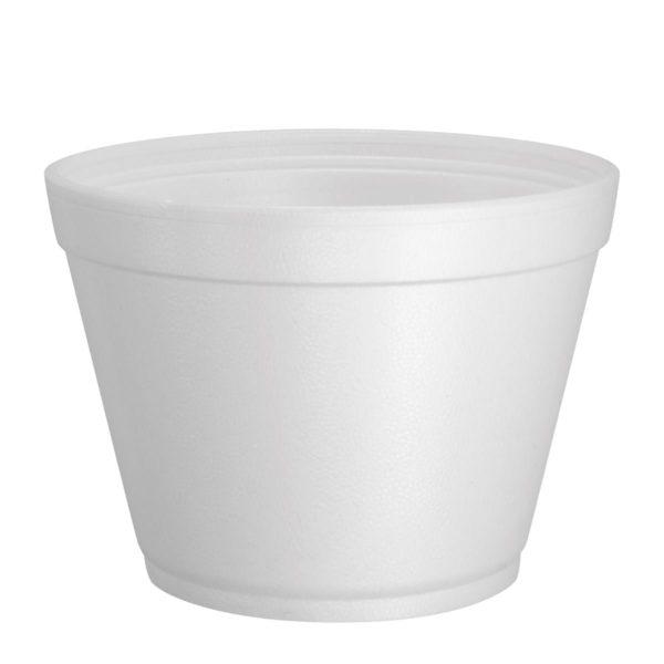 Container Squat Soup Bowls Polystyrene 12oz X 500 12SJ20