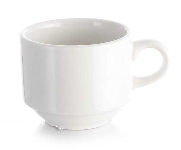 Stacking Cup PURE WHITE 7OZ X 6