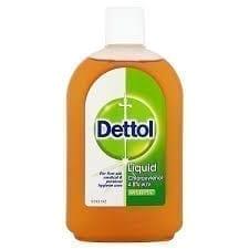 Dettol Antiseptic Liquid 500ML X 6