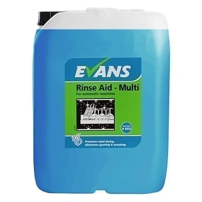Evans Rinse Aid Multi For Automatic Machines 20LTR